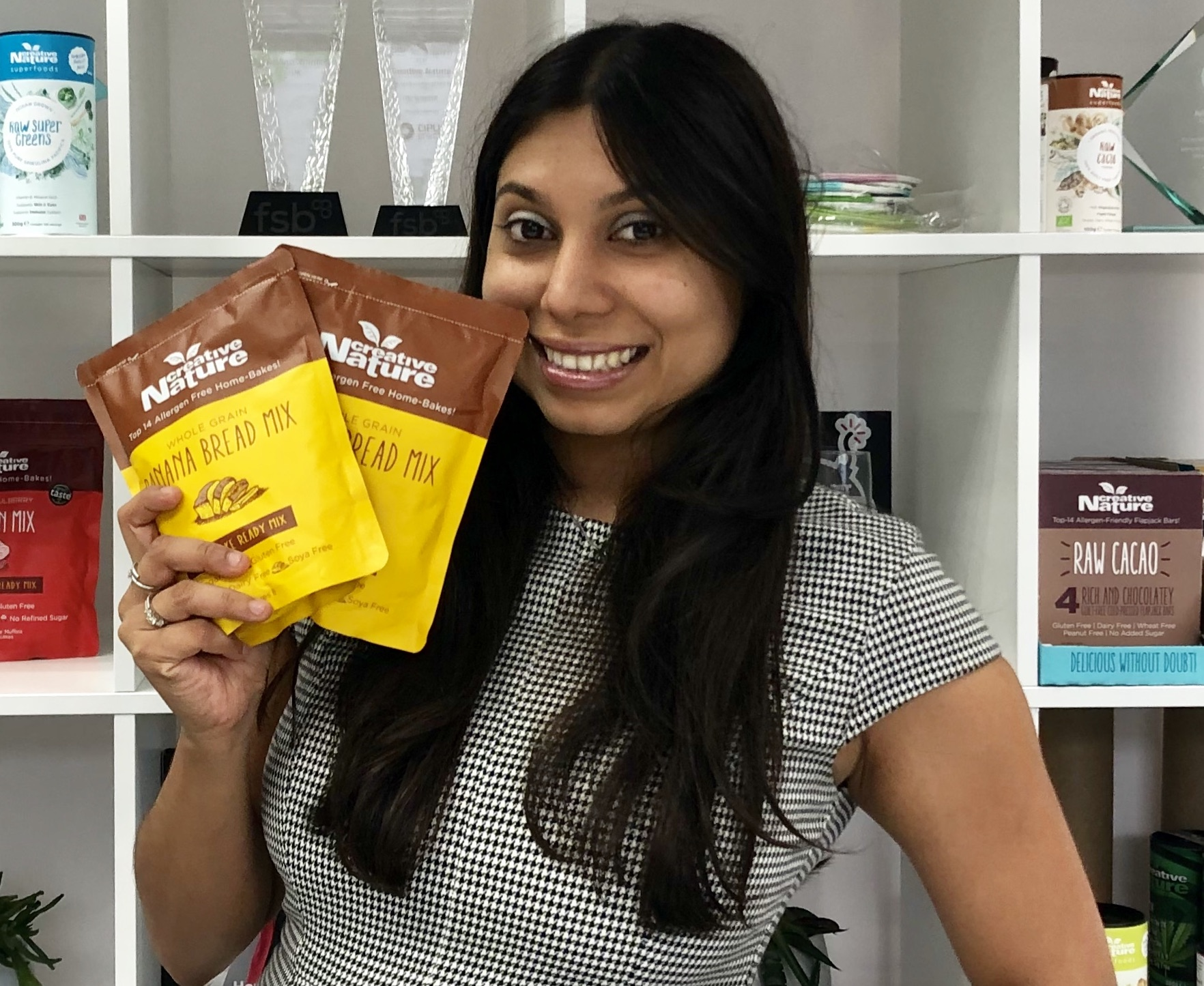 JULIANNE Ponan, CEO of leading free-from food brand Creative Nature