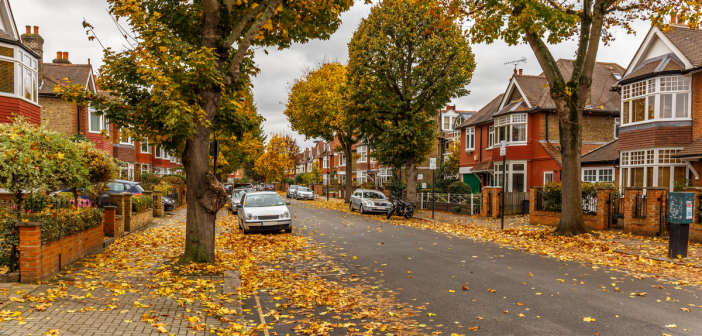 Street of Houses in the UK