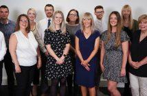 Signature Finance Team - Dean Birks pictured far right