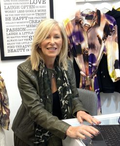 Tricia Stirling, founder and director of fashion business Vanity Fair Scotland