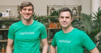 Capitalise CEO Paul Surtees and CPO Ollie Maitland